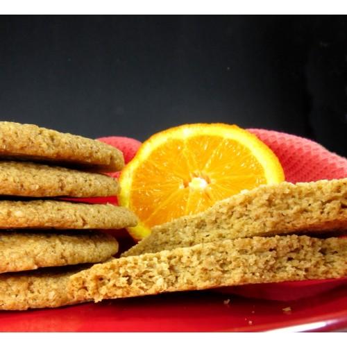Κουλουράκια Πορτοκαλιού Χωρίς Ζάχαρη με Πίτουρο Βρώμης