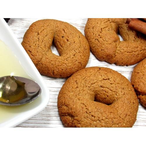 Κουλουράκια Χωρίς Ζάχαρη με Βρώμη και σιρόπι Αγαύης